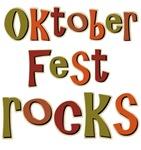 Oktoberfest Rocks Party Holiday T-shirts Gifts