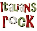 Italians Rock Italy Pride Souvenir T-shirts Gifts