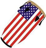 Conga USA Flag music t-shirt gift