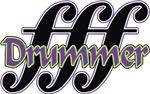 FFF Loud Drummer t-shirts gifts
