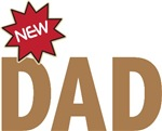 New Dad First Time Family T-shirts Gifts