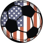 Soccer Ball USA t-shirts gifts