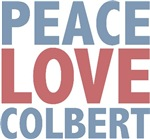 Peace Love Stephen Colbert T-shirts Gifts