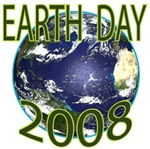Earth Day 2008 t-shirts gifts
