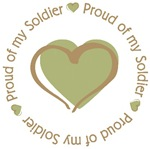 Proud of my Soldier T-shirts and Gifts