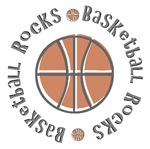 Basketball Rocks T-shirts Gifts