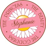 Stephanie Princess Beauty Goddess T-shirts Gifts