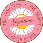 Stephanie Princess Beauty Goddess T-shirts Gifts