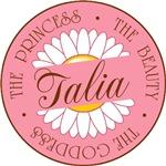 Talia Princess Beauty Goddess T-shirts Gifts