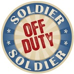 Off Duty Soldier T-shirts Gifts