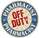 Off Duty Pharmacist T-shirts Gifts