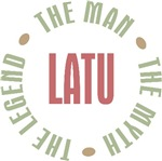 Latu Grandpa Aleut Man Myth Legend T-shirts Gifts