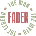 Fader Danish Dad Man Myth Legend T-shirts Gifts
