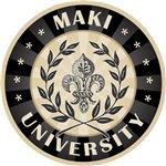 Maki Last Name University T-shirts Gifts