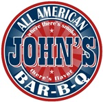 John's All American Bar-b-q T-shirts Gifts