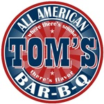 Tom's All American Bar-b-q T-shirts Gifts