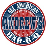 Andrew's All American Bar-b-q T-shirts Gifts