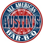Austin's All American Bar-b-q T-shirts Gifts