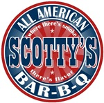 Scotty's All American Bar-b-q T-shirts Gifts