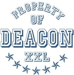 Property of Deacon Personalized T-shirts Gifts