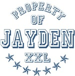 Property of Jayden Personalized T-shirts Gifts