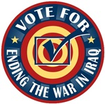 Vote to End the War in Iraq T-shirts Gifts