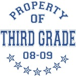 Property of Third Grade 2008-2009 T-shirts Gifts