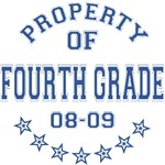 Property of Fourth Grade T-shirts Gifts