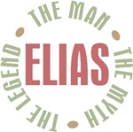 Elias the man the myth the legend T-shirts Gifts
