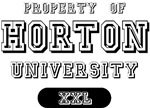 Property of Horton University T-shirts Gifts