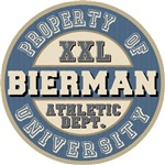 Bierman Last Name Athletic Department Tees Gifts