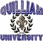 Quilliam Last Name University Tees Gifts