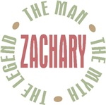 Zachary Man Myth Legend Tees Gifts