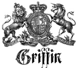 Griffin Vintage Family Name Crest Tees Gifts