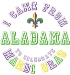 Came from Alabama to Mardi Gras Tees Gifts
