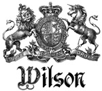 Wilson Vintage Family Name Crest Tees Gifts