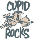 Cupid Rocks Funny Valentine's Tees Gifts