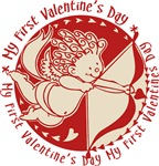 My First Valentine's Day Tees Gifts
