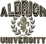 Aldrich Last Name University Tees Gifts