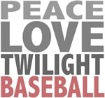 Peace Love Twilight Baseball Tees Gifts