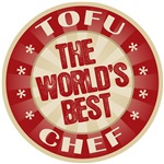 World's Best Tofu Chef Tees Gifts