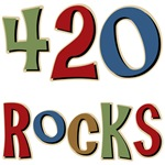 420 Rocks April 20th Area Code Tees Gifts