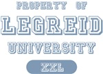 Property of Legreid Last Name University Tees Gift