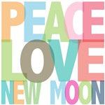 Peace Love New Moon Twilight Tees Gifts