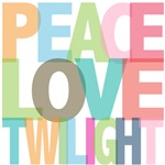Peace Love Twilight Tees Gifts