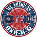 Jokers N' Smokers All American BBQ Tees GIfts