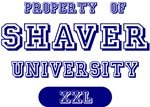 Property of Shaver Universtity