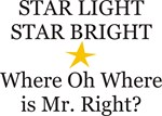 Where is Mr. Right?