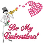 Be My Valentine Skeleton