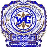 women's Wag Ornate #1 blue&brown